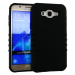 Rocker Slim Rubberized Case for Samsung J7- Honey Black