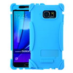 Kicker Series Skin Protector Case for Samsung Galaxy Note 5 (Light Blue)