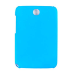 Unlimited Cellular Hybrid Fit On Case for Samsung Galaxy Note 8.0 (Fluorescent Solid Light Blue)