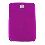 Unlimited Cellular Hybrid Fit On Case for Samsung Galaxy Note 8.0 (Honey Dark Purple, Leather Finish)