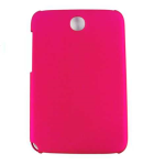 Unlimited Cellular Hybrid Fit On Case for Samsung Galaxy Note 8.0 (Honey Hot Pink, Leather Finish)