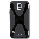 SAMSUNG GALAXY S5 TEKYA FLEX TPU SHIELD - BLACK