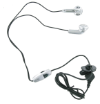 W.A.S.P. Handsfree Stereo Headset for Samsung SGH-T809 (Silver)