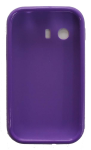 Quality One Wireless Anti Skid Slim Gel Case for Samsung Galaxy Y S5360 - Purple