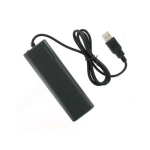 Unlimited Cellular Smart USB Battery Charger Extender for USB Charging Devices (Black) - SBC-2A