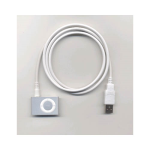 USB Sync & Charge Cable 3.5mm for Apple iPod Shuffle 2nd/3rd Generation