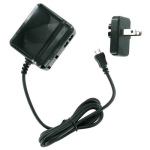 Unlimited Cellular Travel Charger for Xoom 2, G9, Playbook, Kindle Fire, Kindle Fire HD (Black) - SC-P12T