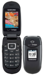 Samsung Gusto SCH-U360 Cell Phone for Page Plus (Bluetooth/Camera/Speakerphone) - SCH-U360-Page Plus-B Stock