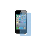 WireX Glitter Screen Protector for Apple iPhone 4 / 4S (Blue)