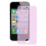 Apple iPhone 4/4S Glitter Screen Protector, Pink