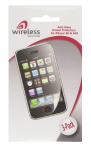 Wireless Solutions Anti-Glare/Anti Fingerprint Screen Protector for Apple iPhone 3GS/ 3G (3-Pack)