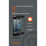 Ventev regen self-healing screen protector for iPhone 6 Plus/6s Plus - Clear Screen (Front Only)