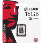 KINGSTON 16GB MicroSD Card. WithoutAdapter. Class 4.