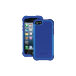 Ballistic Shell Gel Case for Apple iPhone 5 - Navy Blue/Cobalt Blue