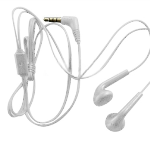 LG Stereo Hands Free Headset - Universal 3.5mm White (SGEY0003224)