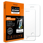 Spigen Tempered Glass  Screen Protector for Apple iPhone 5 / 5S / 5C/ 5 SE (Clear)