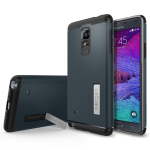 Spigen Slim Armor Case for Samsung Galaxy Note 4 - Metal Slate
