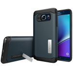 Spigen  Inc. Slim Armor Case for Samsung Galaxy Note 5 - Metal Slate
