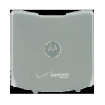 OEM Motorola RAZR V3m Battery Door, Standard size - Silver (Bulk Packaging)