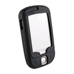 Wireless Xcessories Silicone Skin Case for HTC Touch - Black