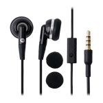 OEM Motorola 3.5mm Fashion Stereo Headset EH25 - Black