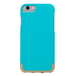 Skech Hard Rubber Mix Case for iPhone 6/6s - Aqua / Champagne