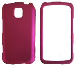 CUBE Snap-On Case for Samsung Admire SCH-r720 - Hot Pink