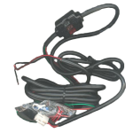 Motorola Power Cable with Fuse for Hands Free Car Kit SKN4922