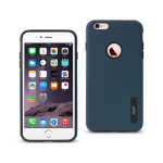 Reiko iPhone 6 Plus/ 6S Plus/ 7 Plus Solid Armor Dual Layer Protective Case In Navy
