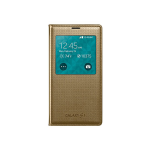 Samsung S-View Flip Cover Case for Galaxy S5 - Copper Gold