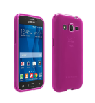 Verizon High Gloss Silicone Case for Samsung Galaxy Core Prime - Pink