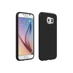 Samsung Galaxy S6 Verizon OEM High Gloss Silicone Cover - Black