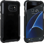 Verizon Matte Silicone Case for Samsung Galaxy S7 - Black