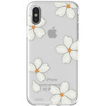 Flavr iPlate Case Apple iPhone X in White Petals