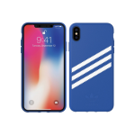 Adidas Polycarbonate Case for Apple iPhone XS Max - Collegiate Royal Gazelle