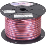 Consolidated Wire - 18ga 2 conductor Clear Speaker Wire/ 250 ft.