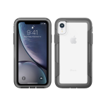 Pelican Shock Absorbing Voyager Case for Apple iPhone XR - Clear/Gray