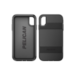 Pelican Voyager Case with Kickstand for Apple iPhone XS Max - Black/Black