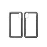 Pelican Four Layer Polycarbonate Voyager Case for Apple iPhone XS Max - Clear/Gray