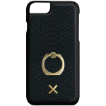 Candywirez Ring Case for Apple iPhone 6 / 6S / 7 / 8 (Matte Black Crocodile)