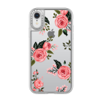 Casetify Durable Hardshell Grip Case for Apple iPhone XR - Pink Floral Roses