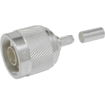 Times Microwave N Male Crimp Connector for LMR-200