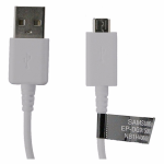 Original OEM Samsung 3ft EP-DG915UWZ Micro USB Male to USB Male Cable - White