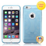 MYBAT Glassy Transparent Baby Blue ECHO Premium Candy Skin Cover(IP6PLUSCASKCA944WP)