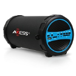 Axess Blue Bluetooth Portable Speaker 1031