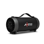 Axess Black Bluetooth Portable Speaker 1056