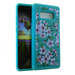 HYB F 2 in 1 Case. Flower Design