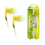 Tangle Free Headset Accents 3.5 Tangle Free Headset. Yellow
