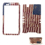 XL Rocker Snap Rocker Snap-On. Distressed USA Flag