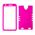 XL Rocker Snap Rocker Snap-On. Fluorescent Dark Hot Pink